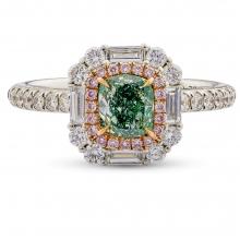 0.76 Ring Fancy Green